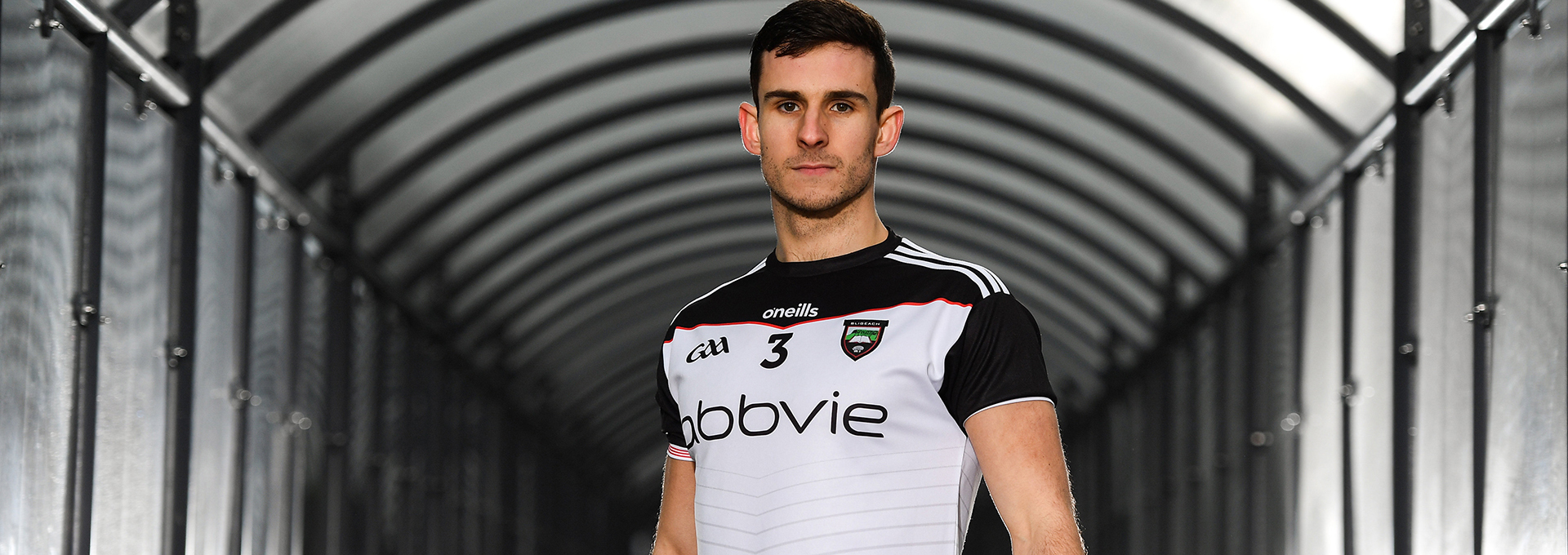 24 January 2019; Niall Murphy of Sligo in attendance at the launch of the 2019 O'Neill's Sligo GAA Jersey, which took place at the team sponsors AbbVie's Manorhamilton Road facility in Sligo. Photo by Sam Barnes/Sportsfile *** NO REPRODUCTION FEE ***